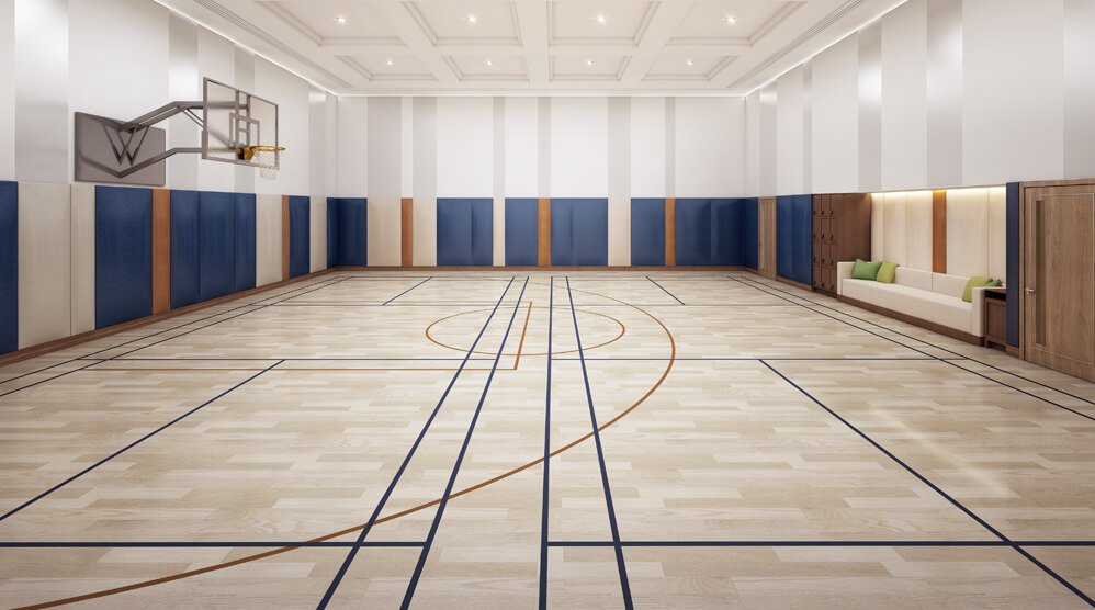 Multi-function Sports Court / Roller Rink * #